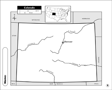 picture about Printable Map of Colorado called Colorado Map Printable Maps and Expertise Sheets