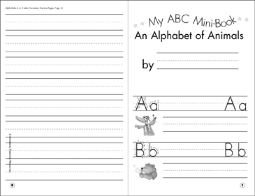 picture relating to Abc Book Printable named My ABC Mini-Ebook: An Alphabet of Pets Printable Mini-Publications