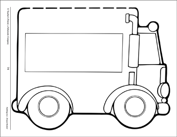 graphic regarding Printable Shape Book identified as Truck: Condition E-book Protect Printable Pupil Presentation Resources
