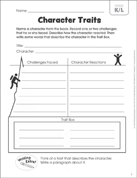 Gargantuan image throughout character traits printable