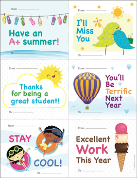 picture relating to Printable Good Bye Cards titled Wonderful-bye Playing cards for Learners Printable Unlined Stationery