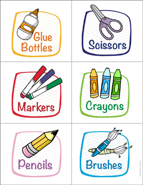 Unusual image intended for free printable classroom signs and labels
