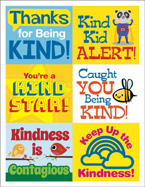 picture regarding Kindness Cards Printable called Kindness Playing cards Printable Awards, Incentives and Stationery