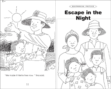 Escape in the Night - Printable Worksheet