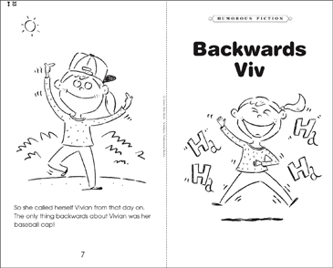 Backwards Viv - Printable Worksheet