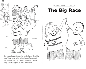 The Big Race - Printable Worksheet