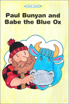 Paul Bunyan and Babe the Blue Ox - Printable Worksheet