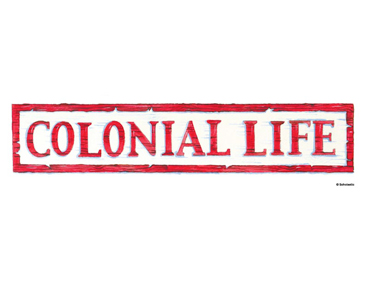 Colonial Life - Image Clip Art
