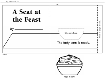 A Seat at the Feast: Literacy Building Booklet - Printable Worksheet