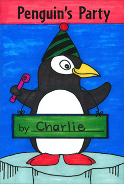 Penguin's Party: Literacy Building Booklet - Printable Worksheet