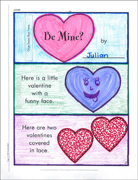 Will You Be Mine?: Literacy Building Booklet - Printable Worksheet