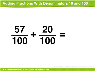 Math Review: Add and Multiply Fractions, Rectangle, Multiply