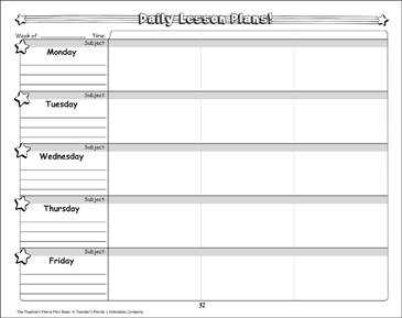 photograph about Teachers Plan Book Printable identified as Day by day Classes: The Instructors Mate Method Reserve Printable