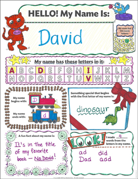 Hello! My Name Is: Poster and Teaching Guide | Printable ...