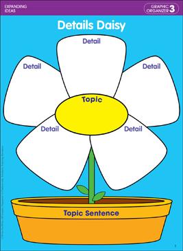 Details Daisy (Expanding Ideas): Writing Skills Lesson ...