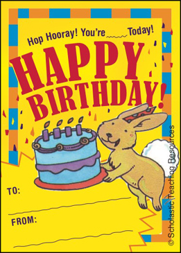 Happy Birthday: Activity Booklet - Printable Worksheet