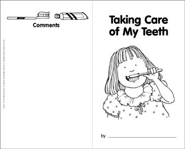 Taking Care of My Teeth - Printable Worksheet