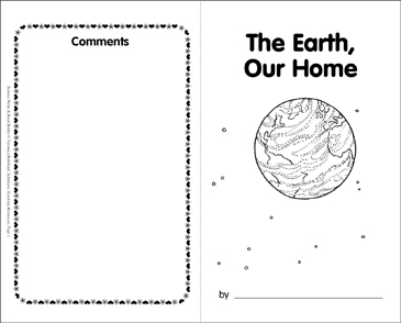 The Earth, Our Home - Printable Worksheet