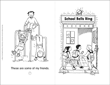 School Bells Ring - Printable Worksheet