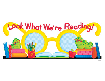 Look What We're Reading! - Image Clip Art