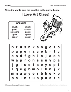 image about Printable Word Art known as Term Look - Artwork Components Printable Term Queries and