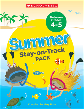 Summer Stay-on-Track Pack Between Grades 4 and 5 - Printable Worksheet