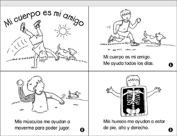 Mi Cuerpo Es Mi Amigo (My Body Is My Buddy) - Printable Worksheet