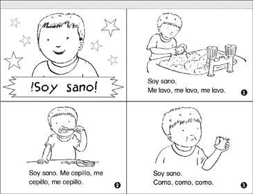 !Soy Sano! (I Am Healthy!) - Printable Worksheet