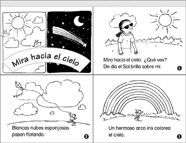 Mira Hacia el Cielo (Look up in the Sky) - Printable Worksheet