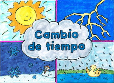 Cambio de Tiempo (All Kinds of Weather) - Printable Worksheet