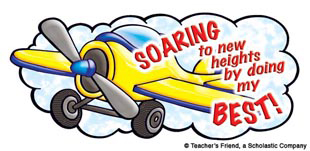 Soaring to new heights by doing my best! - Image Clip Art