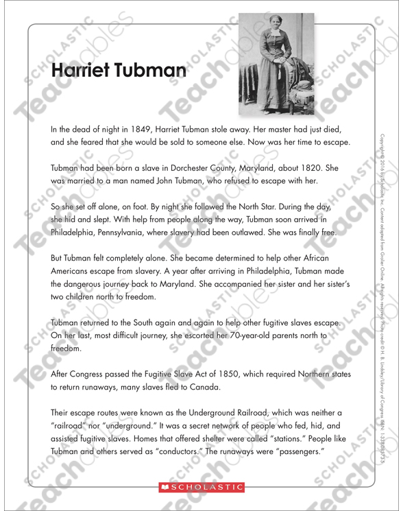 Harriet Tubman Text Organizer Printable Graphic Organizers And. See Inside. Worksheet. Harriet Tubman Worksheets At Mspartners.co