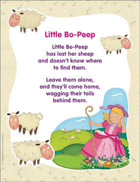 Image result for little bo peep has lost her sheep poem