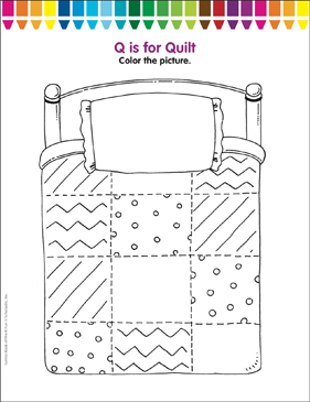 coloring pages for quilts - photo#13
