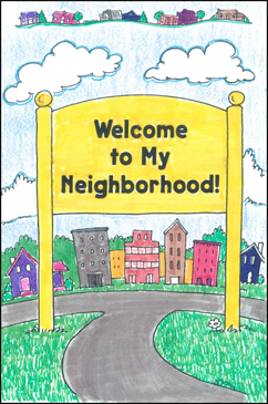 picture relating to Welcome to the Neighborhood Printable referred to as Welcome in direction of My Local! Printable Mini-Publications