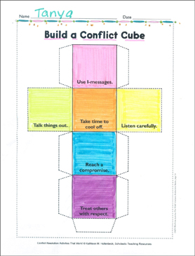 photo regarding Cube Printable known as Develop a Conflict Dice: Conflict Solution Sport