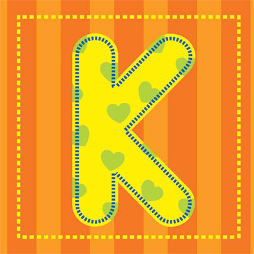 image regarding Letter K Printable identify Letter K Printable Clip Artwork and Illustrations or photos