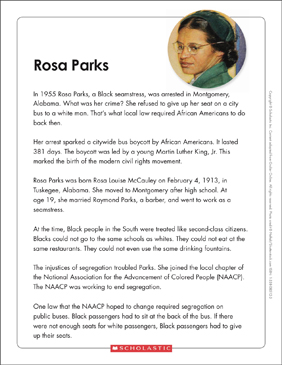 Simple Essays In English  Barack Obama Essay Paper also Good High School Essay Examples Rosa Parks Text  Organizer  Printable Graphic Organizers  How To Write Science Essay