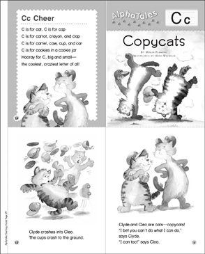 Copycats (Letter C): Alpha Tale - Printable Worksheet