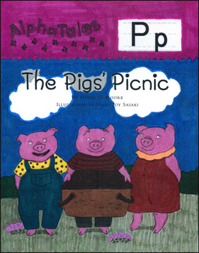The Pig's Picnic (Letter P): Alpha Tale - Printable Worksheet