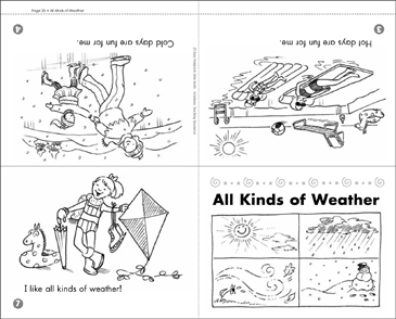 All Kinds of Weather - Printable Worksheet
