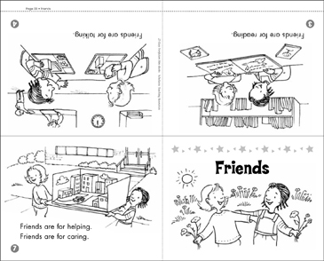 Friends - Printable Worksheet