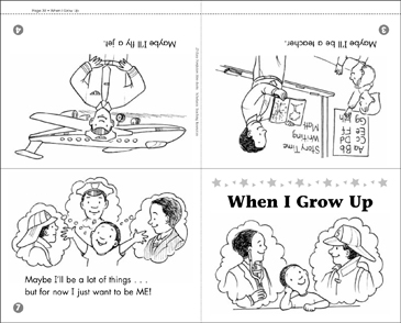 When I Grow Up - Printable Worksheet