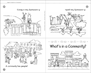 What's In a Community? - Printable Worksheet