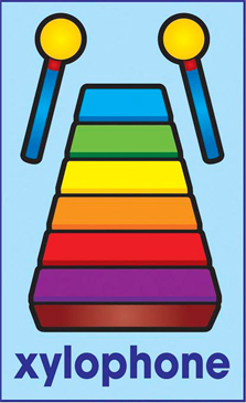 Xylophone - Image Clip Art