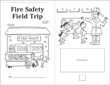 Fire Safety Field Trip (Sequencing) - Printable Worksheet