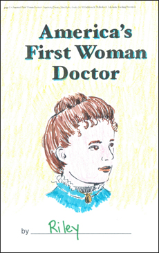 America's First Woman Doctor: Sequencing Mini-Book - Printable Worksheet