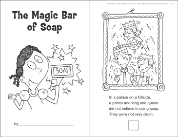 The Magic Bar of Soap (Sequencing) - Printable Worksheet