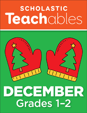 December Grades 1-2 Printable Packet - Printable Worksheet