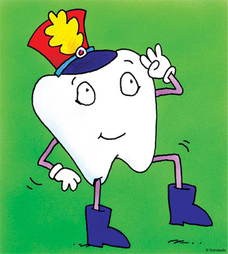 Marching Tooth - Image Clip Art